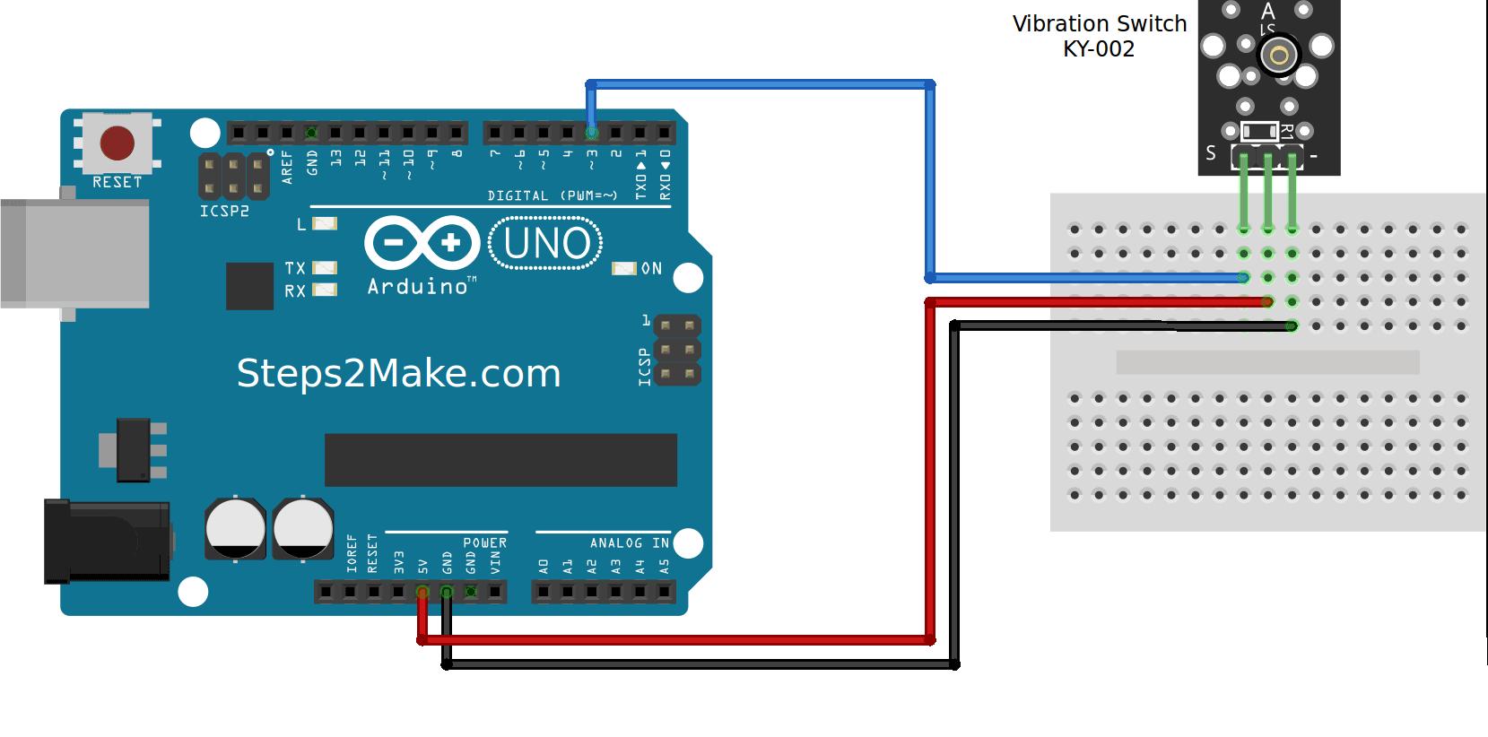 2 Way Switch Arduino